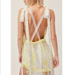 For Love and Lemons Lemoncella Maxi Dress